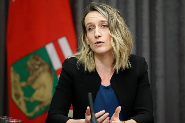 Dr. Joss Reimer, medical lead for Manitoba's vaccine committee. THE CANADIAN PRESS FILES/John Woods
