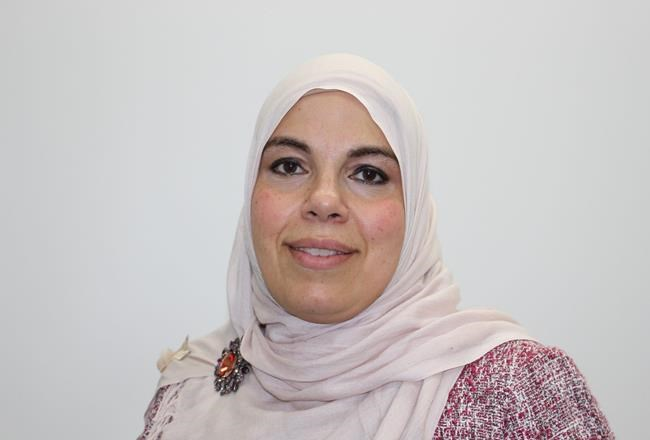 Rania Lawendy with the the Muslim Association of Canada, is shown in a handout photo. THE CANADIAN PRESS/HO-Muslim Association of Canada MANDATORY CREDIT