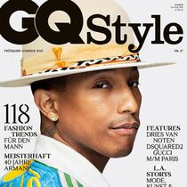 Pharrell Williams on GQ Style