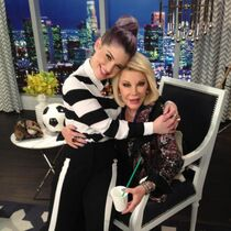 Kelly Osbourne and the late Joan Rivers on 'Fashion Police'