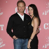 Ian Ziering with wife Erin