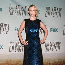 January Jones at 'The Last Man On Earth' premiere in Los Angeles