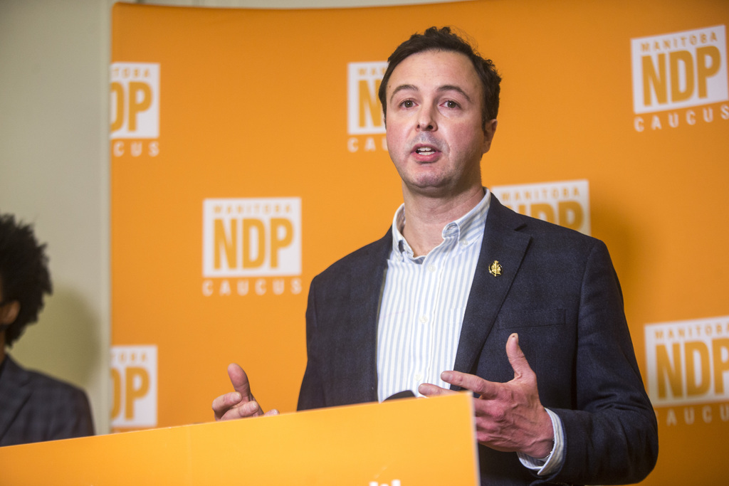 Paul Beauregard filed a complaint against NDP MLA Adrien Sala under the legislature's Respectful Workplace Policy, but wouldn't release the final report. (Mikaela MacKenzie / WInnipeg Free Press files)