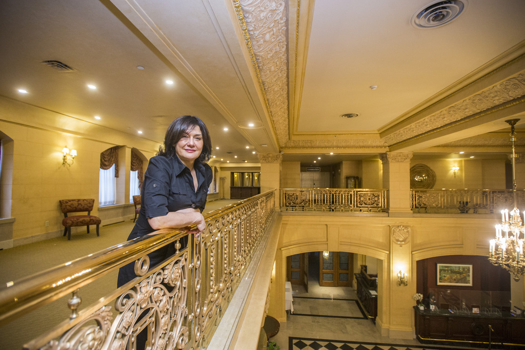 Hotel Fort Garry owner Ida Albo says she feels blessed to have had the opportunity to put a stamp on the building for the last quarter-century. (Mikaela MacKenzie / Winnipeg Free Press files)