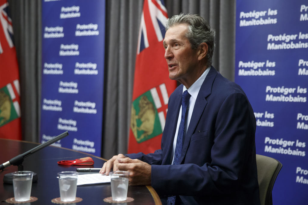 Pallister should aspire to be the first province in the country with no active cases, which could require him to resist removing restrictions. (Mike Deal / Winnipeg Free Press files)