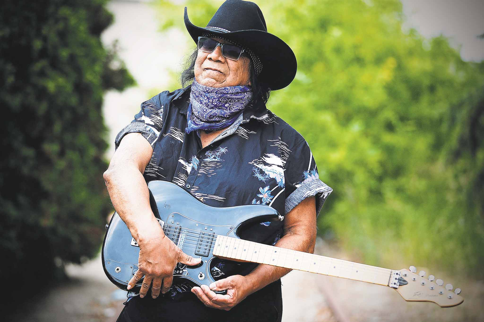 JOHN WOODS / WINNIPEG FREE PRESS</p><p>Blues musician Billy Joe Green found his love for music and learned to play the guitar at the Cecilia Jeffrey Indian Residential School.
