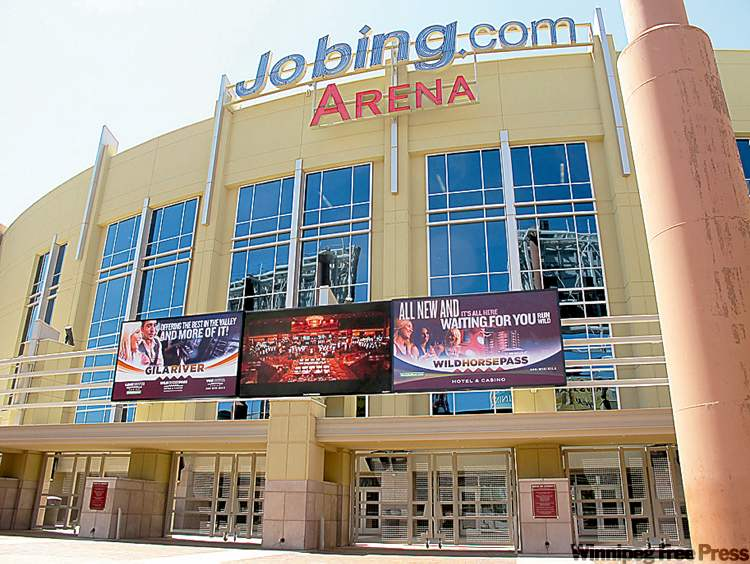 Glendale`s Jobing.com Arena was built with $180 million in tax dollars.