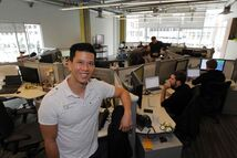Thu Tran, director of operations for retail software developer iQmetrix, says he and fellow employees couldn't be happier about their new space.