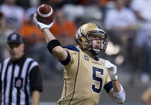 Bombers QB Drew Willy may — or may not — play on Saturday.