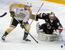 Brandon Wheat Kings forward Tyler Coulter was the overtime hero in Game 2.