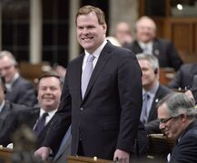 Foreign Minister John Baird speaks in the House of Commons in Ottawa on Feb. 3, 2015. Former foreign affairs minister John Baird has become a special international adviser to Barrick Gold Corp. THE CANADIAN PRESS/Adrian Wyld