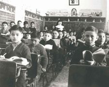 Placing First Nations children in residential schools such as the one in Cross Lake  resulted in a loss of indigenous culture, as well as of faith in government, education and authority.