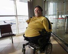 Paul Murphy, a successful businessman, has been the voice of thalidomide survivors for about 25 years. He was born with flipper-like hands and feet.
