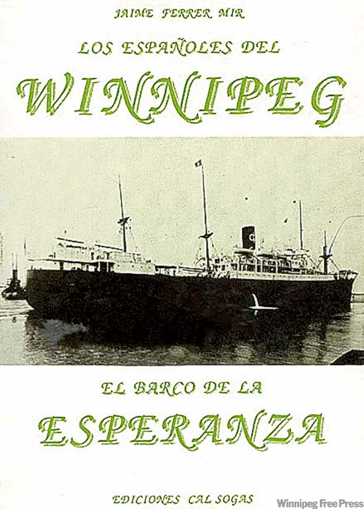 The Winnipeg freighter ship in chile - for gord sinclair story winnipeg free press
