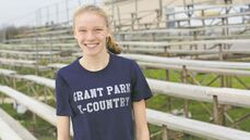 Oct. 29, 2014 - Jennie Baragar-Petrash won the varsity girls provincial cross country championships two years in a row. The first year as a junior varsity athlete. (DANIELLE DA SILVA/CANSTAR COMMUNITY NEWS/SOU'WESTER)