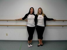 Sister duo Shauna (left) and Jamie Jurczak own and operate Maples Academy of Dance.