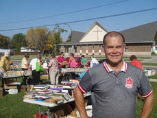 Jim Rondeau, MLA for Assinibioa since 1999, is not planning to run in the upcoming provincial election. He is known for attending tons of community events and is pictured here at the 2014 Assiniboia Literacy Book Exchange.