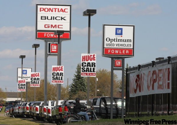 It's business as usual at Brandon's Fowler Pontiac Buick GMC, despite notice.