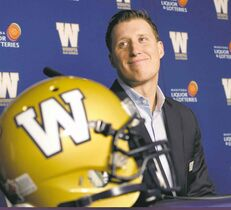 The Winnipeg Blue Bombers have announced a contract extension for quarterback Drew Willy at a news conference Friday morning.