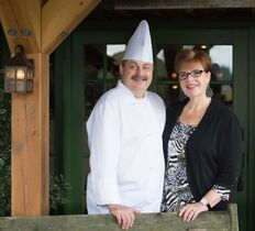 Ronald and Tricia St. Pierre of Locals restaurant in Courtenay, B.C., are celebrating Food Day Canada on Aug. 2, 2014, by showcasing Canadian cuisine. THE CANADIAN PRESS/HO