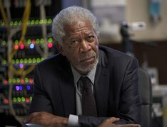 This image released by Universal Pictures shows Morgan Freeman in a scene from