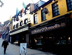 Peadar O'Donnell's sits on one of the city's lovely sloped streets and is just one of many live-music venues in the city.