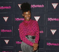 FILE -- In this Sept. 20, 2012 file photo, Daniele Watts attends The Hollywood Denim Party at Palihouse in West Hollywood. A judge on Monday, May 4, 2015, ordered Watts and her boyfriend, Brian Lucas, to apologize to police officers the actress accused of racial profiling as part of a plea agreement to resolve a lewd conduct case. Watts and Lucas pleaded no contest to one count each of disturbing the peace with loudness and will have the case dismissed if they write apology letters, serve 40 hours of community service and stay out of trouble for one year. (Photo by Todd Williamson/Invision/AP, File)