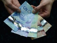 Polymer bank notes are shown during a news conference at the Bank of Canada in Ottawa on Tuesday, April 30, 2013.The results of a new online survey suggest many Canadians would like to see women better represented on bank notes. THE CANADIAN PRESS/Sean Kilpatrick