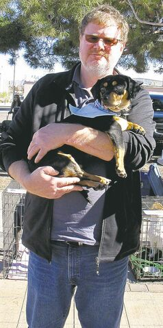 Doug Speirs falls for Sam while attending an adoption fair in Las Cruces, N.M.