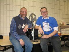 Maples Collegiate teachers Saul Henteleff and Murray Stardom are organizing the first 7 Oaks Student Film Festival.