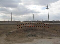 March 19, 2015 - Perimeter Highway at Raleigh/Gateway, site of proposed at grade crossing beneath new elevated interchange at Perimeter/Highway 59. (SHELDON BIRNIE/CANSTAR COMMUNITY NEWS/THE HERALD).