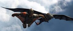 This image released by DreamWorks Animation shows the character Hiccup, voiced by Jay Baruchel, in a scene from