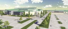 Handout / Artist rendering The Red River Exhibition Association plans to build a 5,000-seat arena/event centre, a 300,000-square-foot Expo Centre and a light-industrial park on 200 acres of unoccupied land just west of the Perimeter Highway.