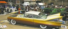 World of Wheels attendees can expect a packed convention centre, loaded with custom and classic vehicles.