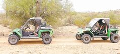 Blast your way through the Sonoran Desert on a Tomcar with Green Zebra Adventures. Expect to get very dusty.