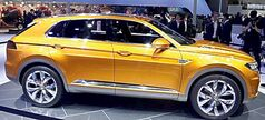 Volkswagen's CrossBlue Coupe concept.