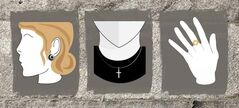 Permitted religious symbols for public employees off the Quebec values website. (http://www.nosvaleurs.gouv.qc.ca)