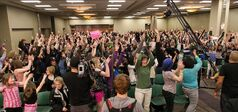 Hundreds of hopefuls and their parents turned out last year to audition for YTV's The Next Star at the Winnipeg Convention Centre.