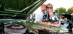 Rhonda Reyher, pictured with her late husband Randy, is presenting the Randy Reyher Second Annual Memorial Car Show on Sunday at Canad Inns Stadium.