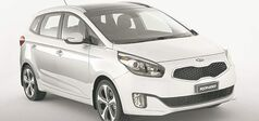 Even after extensive winter testing, the Kia Rondo showed little wear.