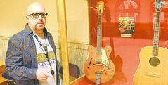Robert Johnson donated several guitars to the National Music Museum.