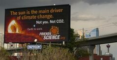Greenpeace wants to know why its billboard on solar energy was rejected in Edmonton while an ad denying that humans have an impact on climate change is up in Calgary. The group says it had a deal two years ago with billboard company Pattison Outdoor to display an ad in Edmonton, but it was cancelled without explanation.THE CANADIAN PRESS/HO-Greenpeace