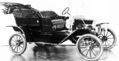 More than 15 million Model T Fords were manufactured from 1908 through to 1927.