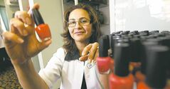 Rahat Mirza, owner of Rahat Professional Skin Care: