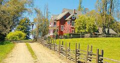 Most accommodations in the Anderson Valley are in the form of small inns, guest ranches and bed and breakfasts.