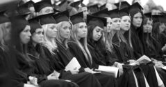 Red River College graduation in June 2012 - 96 per cent walk out of school and into a job.