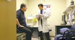 RUTH BONNEVILLE / WINNIPEG FREE PRESS  Dr. Turnley Wong is Doug Speirs' internal medicine specialist who tut-tuts at Doug's bad eating habits. Wong works at St. Boniface Hospital.