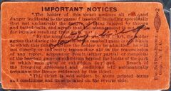 FILE- In this undated file photo provided by Heritage Auctions, a Yankee Stadium ticket stub signed by Lou Gehrig on July 4, 1939, the day he retired from baseball, is shown. The ticket was sold at an auction by Heritage Auctions of Dallas, Texas on Thursday, July 31, 2014, for $95,600. (AP Photo/Heritage Auctions, File)