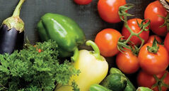 Farm fresh fruits and vegetables are available now.