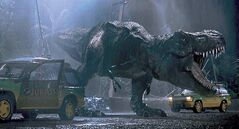 Viewers are rewarded with a breathtaking 3-D conversion in �Jurassic Park 3D.� Illustrates FILM-JURASSIC-ADV05 (category e), by Sean O�Connell, special to The Washington Post. Moved Wednesday, April 3, 2013. (MUST CREDIT: Universal Studios)